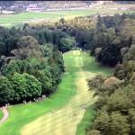 日本ゴルフツアー選手権 宍戸ヒルズカントリークラブ初日成績。