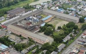 富岡製糸場敷地画像