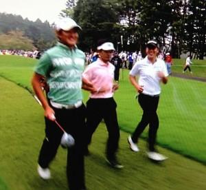 日本ゴルフツアー三強画像
