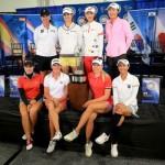 女子ゴルフ国別対抗戦インターナショナル・クラウン宮里藍・横峰さくら