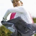 宮里藍 全英リコー女子オープンゴルフ 16位タイ 上原彩子27位で決勝へ