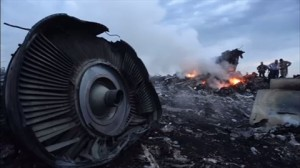 撃墜されたマレーシア航空機