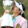 日本の女子プロゴルフトーナメント優勝、日本一 鈴木愛