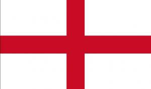 イングランドのシンプルな国旗