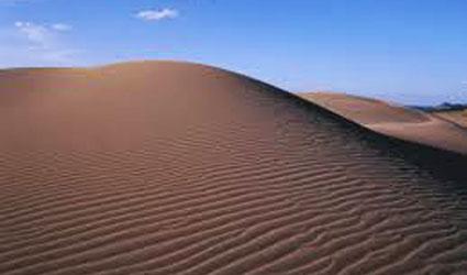 鳥取砂丘 日本一の砂場