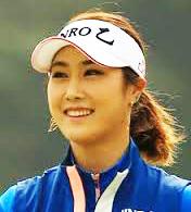 キム ハヌル 美人ゴルファー